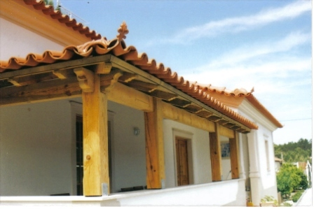 Madeiramentos para telhados